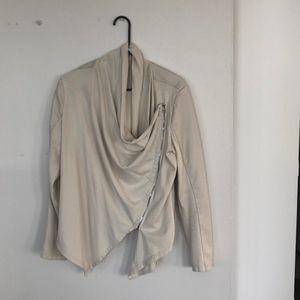 Blank NYC Cream Jacket